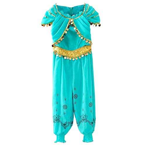 Plus Size Disney Jasmine Costumes - Tsyllyp Girls One Piece Princess Jasmine