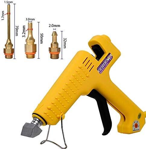 250Wハイパワーロッド用接着ガン専門の商業製造温度ホット融解ツールを調整することができます (色 : CPS 2, Plug Type : US)