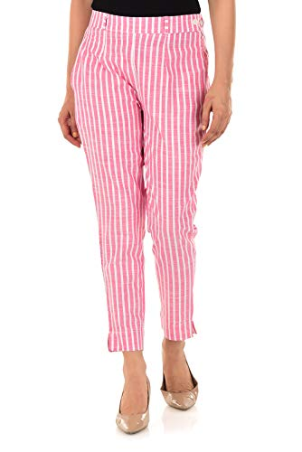 ATARAH Women Cotton Regular Fit Casual Wear/Formal Wear Trousers