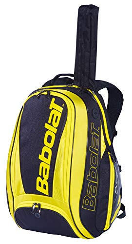 Babolat Pure Aero Black/Yellow Tennis Backpack