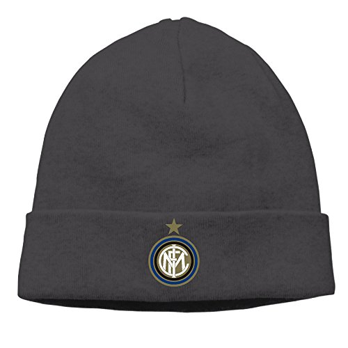 - Outdoor Classy Inter Milan Soccer Club Beanie Skull Hat Cap Black