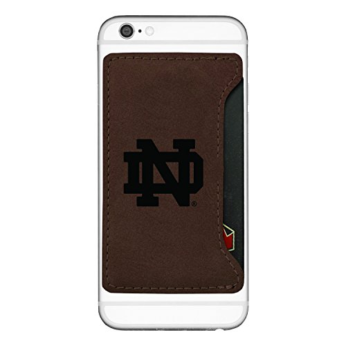 LXG, Inc. University of Notre Dame-Cell Phone Card Holder-Brown