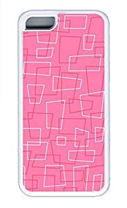 iPhone 5c Cases - Summer Unique Wholesale TPU White Cases Personalized Design Red And White Line Red Lines by supermalls