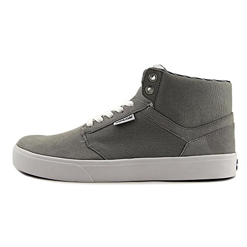 Mens Suede 8 Yorek Sneakers Gray Supra Up Canvas High Shoes Top High Lace wIExqqC