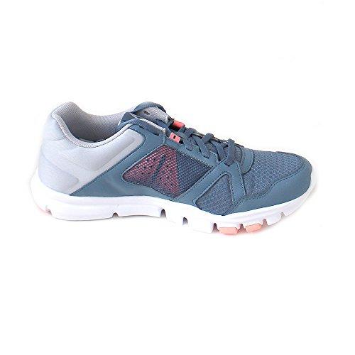 Grey Zapatillas Mujer Trainette Slate Digital Blue Pink de MT Reebok 000 para Deporte Multicolor White Yourflex 10 Cloud qAwIAFO