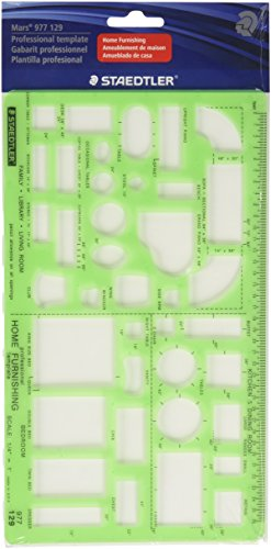 Staedtler Technical Drawing Template (977 129 02)