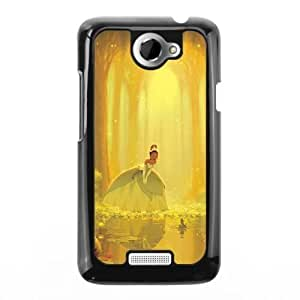The best gift for Halloween and Christmas HTC One X Cell Phone Case Black The Princess and the Frog Tiana WYW8611587