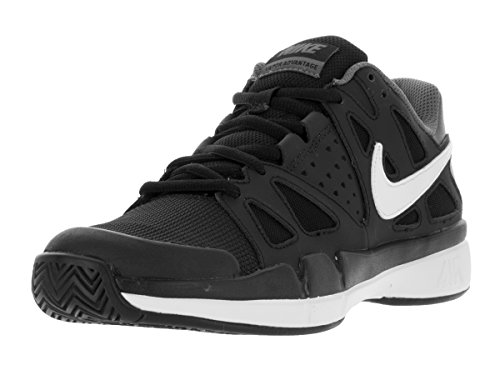 Nike Mens Air Vapor Advantage Tennis Shoe White/Black//Black