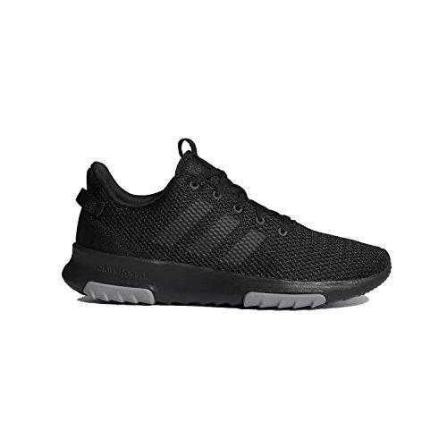 Lightweight Adidas Sneakers (adidas Men's CF Racer TR Sneaker, Core Black, Core Black, Grey Three Fabric, 12 M US)