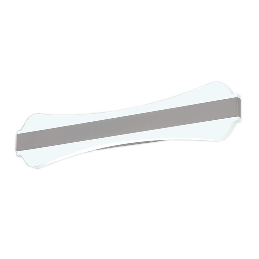 &Spiegelleuchte Acryl Spiegel Scheinwerfer-LED Badezimmer Make-up Beleuchtung Spiegel Schrank Wandleuchte (Farbe   weißes Licht-40cm-15w)
