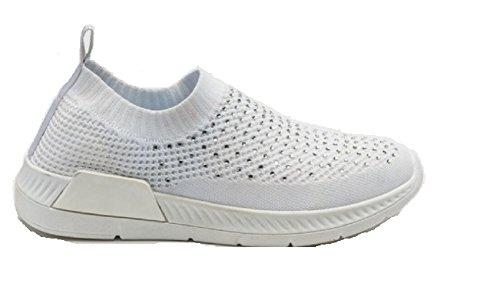 Koo-T Damen Sneaker Weiß