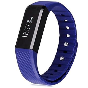 vidonn X6 Reloj Inteligente IP65 resistente al agua Bluetooth 4.0 inteligente pulsera Fitness reloj azul, color morado: Amazon.es: Deportes y aire libre