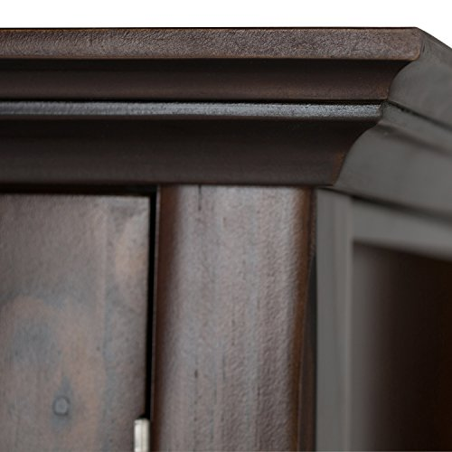 Simpli Home Acadian Solid Wood TV Media Stand for TVs up to 60'', Rich Tobacco Brown by Simpli Home (Image #4)