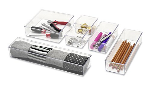 whitmor-clear-drawer-organizers-set-of-6