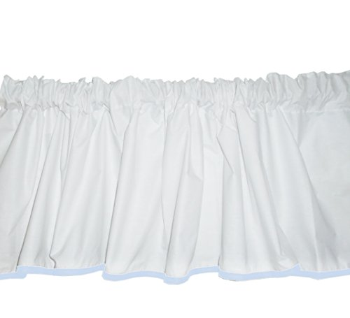 Baby Doll Bedding Forever Mine Junior Window Valance, Blue