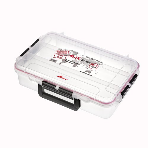 MAX Grip Waterproof & Dustproof Tackle Box, Transparent