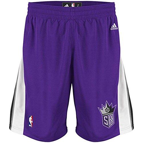 Sacramento Kings Adidas Purple Swingman Performance Shorts (S)