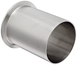 Dixon 14WLMP-G300 Stainless Steel 304 Sanitary Fitting, Light Duty Tank Weld Clamp Ferrule, 3\