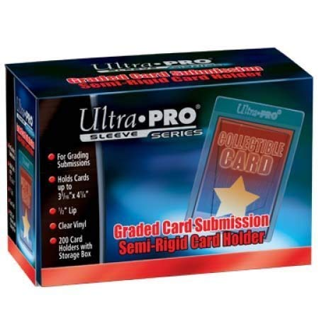 (Ultra Pro Graded Card Submission Semi Rigid 1/2