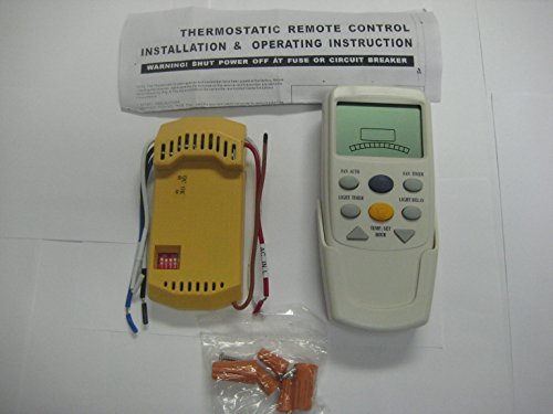 Hampton Bay Thermostatic Ceiling Fan and Light Remote Control 838-956, Model: , Tools & Hardware store