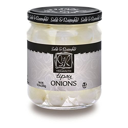 Sable & Rosenfeld Tipsy Onions - 10.9 Oz (Two Jars) (Pickled Onions Sweet)