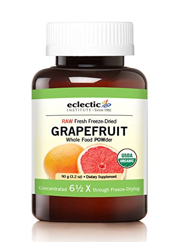 Eclectic Grape Fruit Cog Freeze Dried Plants 90 Grams, Green, 90 Gram