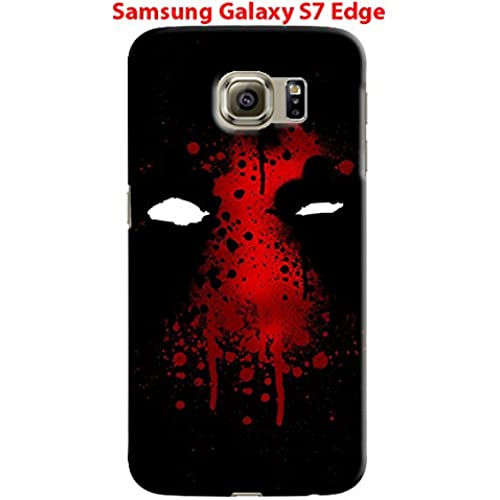 Deadpool for Samsung Galaxy S7 Edge Hard Case Cover (zbor12) Sales