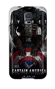 Herbert Mejia's Shop For Galaxy S5 Fashion Design Captain America First Avenger Case 6794838K31102519