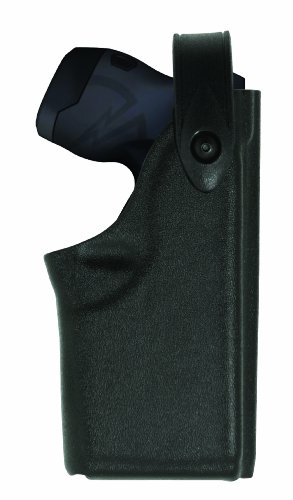 Safariland 6520 EDW Holster SLS and Adjustable Angle, Clip-On Belt Loop, Black, Left Hand, Taser X26