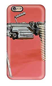 Art Marie Johnson Snap On Hard Case Cover Machine Gun Protector For Iphone 6