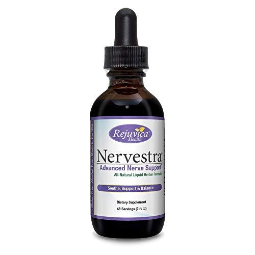 Nervestra Nerve Health Support Supplement | Fast, Natural Liquid Formula | Turmeric, B-Vitamins, Alpha Lipoic Acid & More