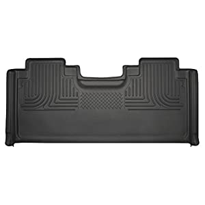 Husky Liners 19361 Black 2nd Seat Floor Liner Fits 15-19 F150, 2017-19 F250/F350 SuperCab