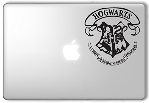Hogwarts Crest Harry Potter - Apple Macbook Laptop Vinyl Sticker Decal (Crest Sticker)
