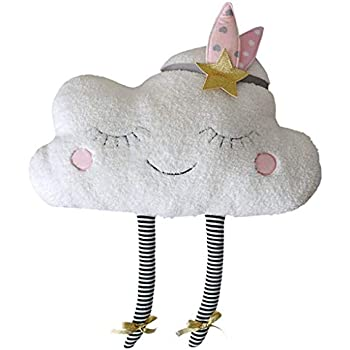 Amazon.com: TiTCool Cloud almohada creativa en forma de nube ...