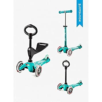 Patinete Mini Micro 3-en-1 Deluxe, Aqua: Amazon.es: Deportes ...