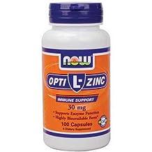 Now Opti-L-Zinc Copper Mineral Supplement