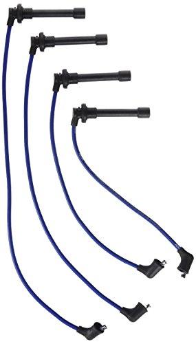 (ACCEL 7913B 300 Plus ThunderSport Blue Ferro-Spiral Spark Plug Wire Set)