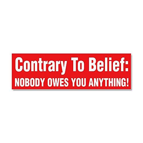 CafePress - Anti Obama - Car Magnet 10 x 3, Magnetic Bumper Sticker
