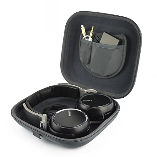 Headphones Carrying Case for Sony MDR-XB950BT, XB920, XB900, 10R, XB650BT, DR-BTN200, MDR-NC7, MDR-XB450AP, XB200, ZX600, ZX550, MDR-X10, X05 / Headset Hard Shell Travel Bag