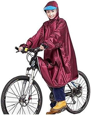 Chujian Chubasquero, Poncho Jacket Adulto Bicicleta eléctrica ...