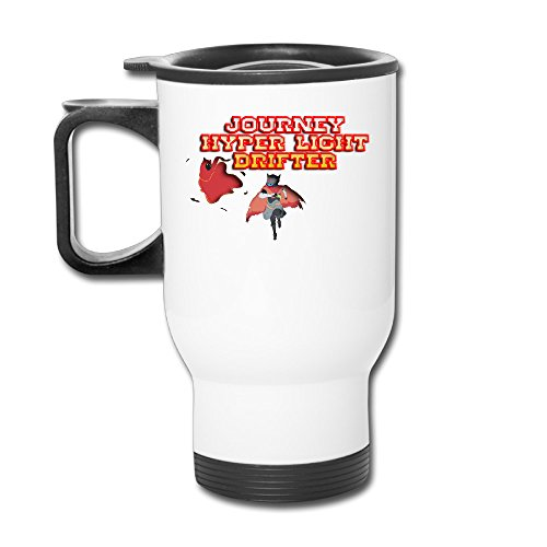 Journey Ceramic Mug - Custom Journey X Hyper Light Drifter Handy Travel Mugs Gift By Katiydry