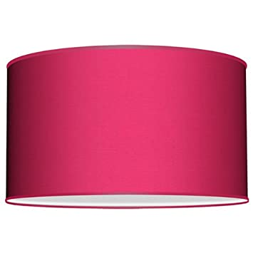 Seascape lamps drum lamp shade taffeta pink berry