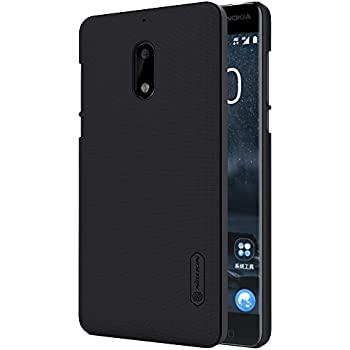 Nokia 6 Case,Case,Mangix Exact-Fit Premium Matte Finish Hard Back Cover Case with Film Screen Protector for Nokia 6 2017 Released (Black)