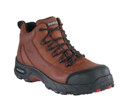 Reebok Women's Tiahawk Waterproof Sport Hiking Boot Composite Toe Brown 8.5 EE US by Reebok (Image #2)