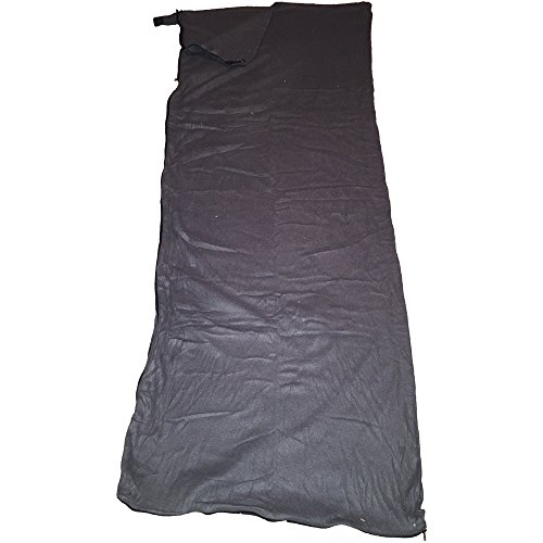 Moose Country Gear fleece Sleeping Bag Liner, Black by Moose Racing