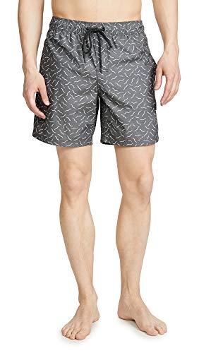 RVCA Men's Program Elastic Short, Black, M (Swim Shorts For Men Rvca)