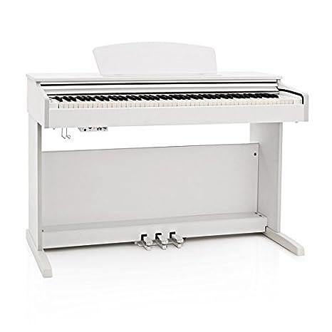 gear4music pianoforte digitale  DP-10X Pianoforte Digitale Gear4music Bianco: : Strumenti ...