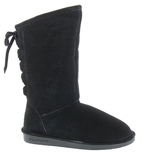 Bearpaw Phylly Youth Black II Kids Girls Winter Boot Size 3M