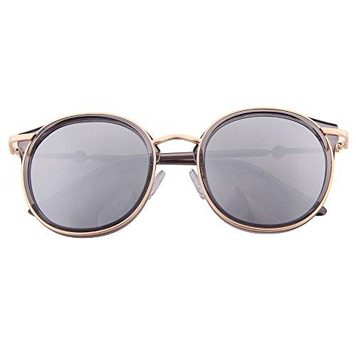 ogobvck les lunettes de soleil sexy cateye mode moderne miroir polarisé uv400 lunettes lunettes (blue) U9NggYcXJD