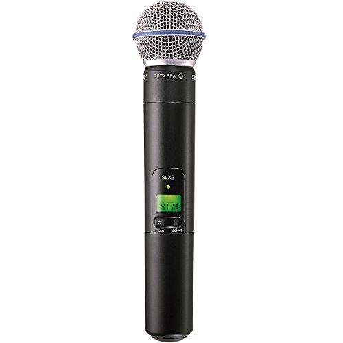 Shure SLX2/BETA58 J3 | BETA58A Handheld Wireless Microphone Transmitter